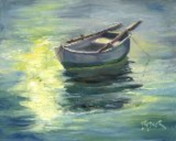 Morning Light On the Row Boat