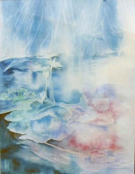 Sunken Garden Series - Lily Pond