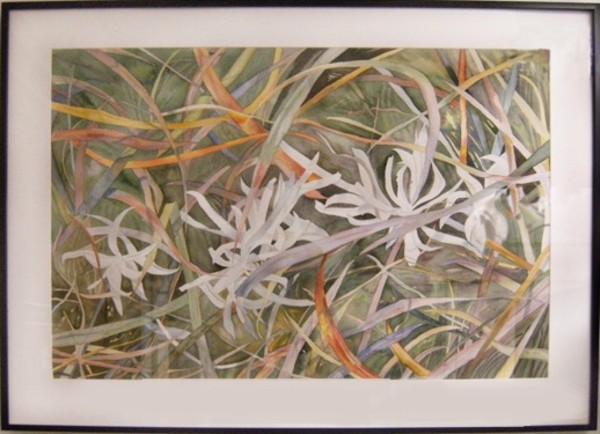 Sage with Fall Grasses