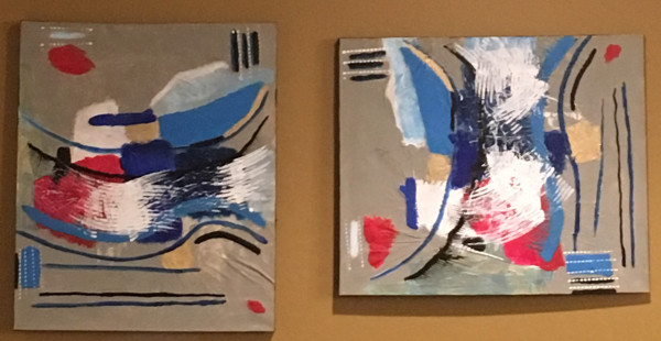 Diptych in Grey