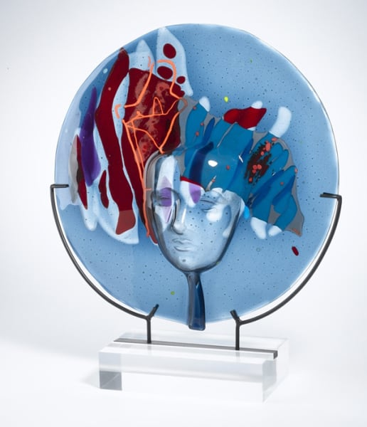 "10th Place – Overall - Haviva Zemach - ""Lady Blue"" – www.havivazemach.com"