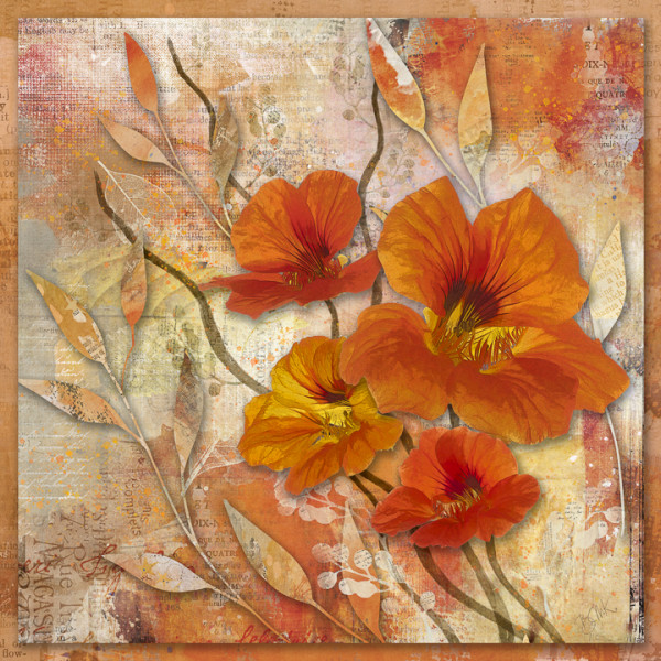 "5th place - Barbara Mierau-Klein - ""Nasturtium Cheer"""