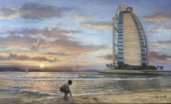 """6th Place – Overall - Yizhou Zhang - """"Monument to Sail"""" – yzch16@163.com"""