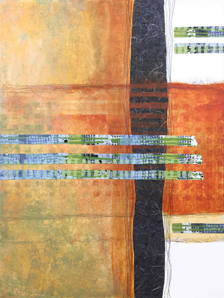"6th Place - Cynthia Coldren - ""Contextures 3"" - www.cynthiacoldrenfineart.com"