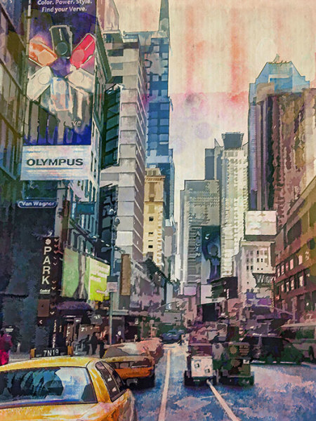 """7th Place – Overall - Marilynn Evans - """"NYC-2"""" – mkevans@olypen.com"""