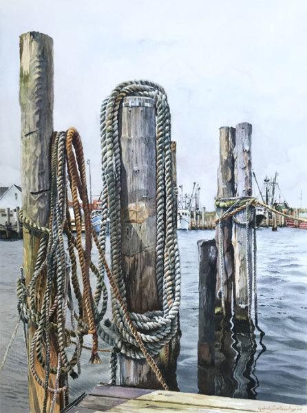 "7th Place – Overall - Lizabeth Castellano-King – ""Montauk Pier II"" - liz.castellano.king1@gmail.com"
