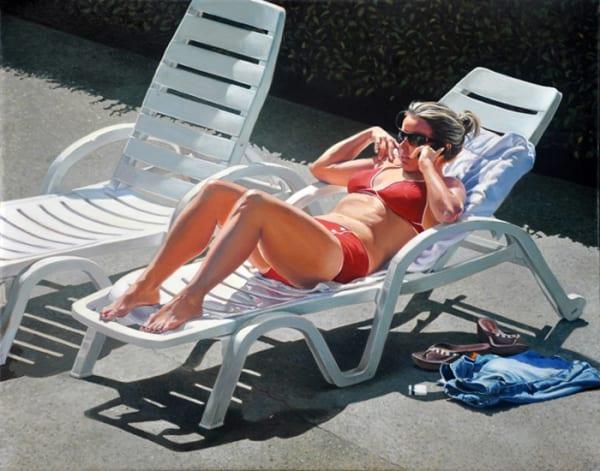 "7th Place – Overall - Rachel Kline – ""Sunbather"" – www.rachelkline.com"