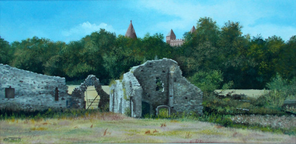 """2nd Place – Overall - Murray William Cole Ince - """"Quarr Abbey Ruins"""" – www.murrayince.com"""