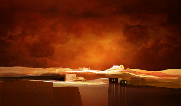 "6th Place – Overall - Fernando Hocevar - ""Landscape Under the Hidden Moon"" – ferhocevar@gmail.com"