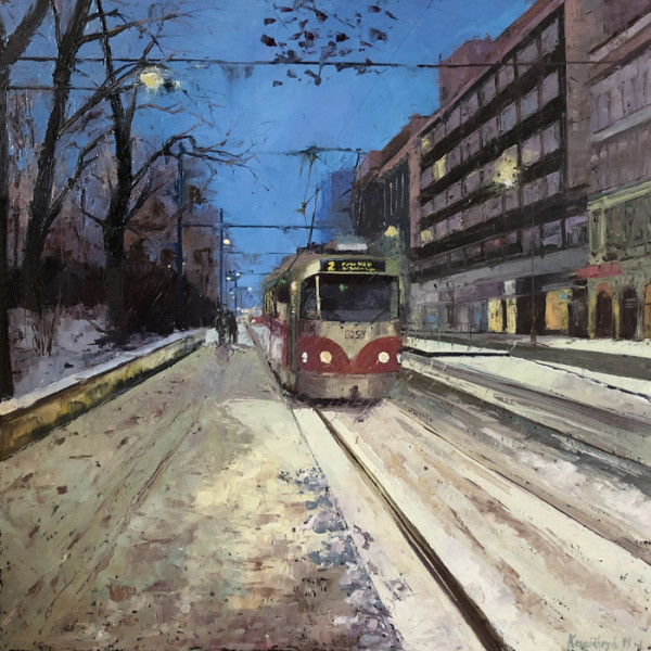 "9th  Place – Martina Krupičková - ""Tram No. 2"" –  www.martinakrupickova.com"