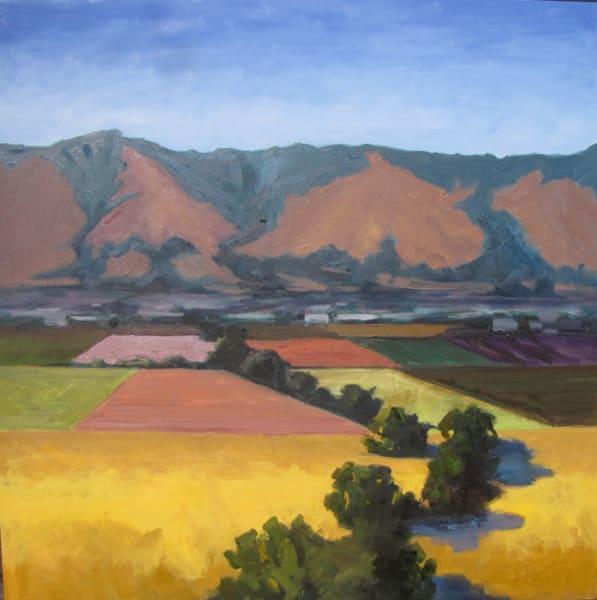 "Barbara Lawrence – ""Watsonville Hills"" – www.barbaralawrenceart.com"