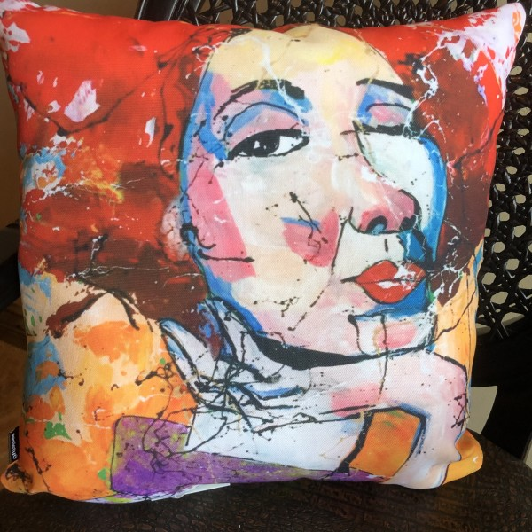 Wild Confidence Indoor Thow Pillow 16x16
