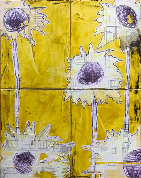 Urban Flora Sunflower C1x4