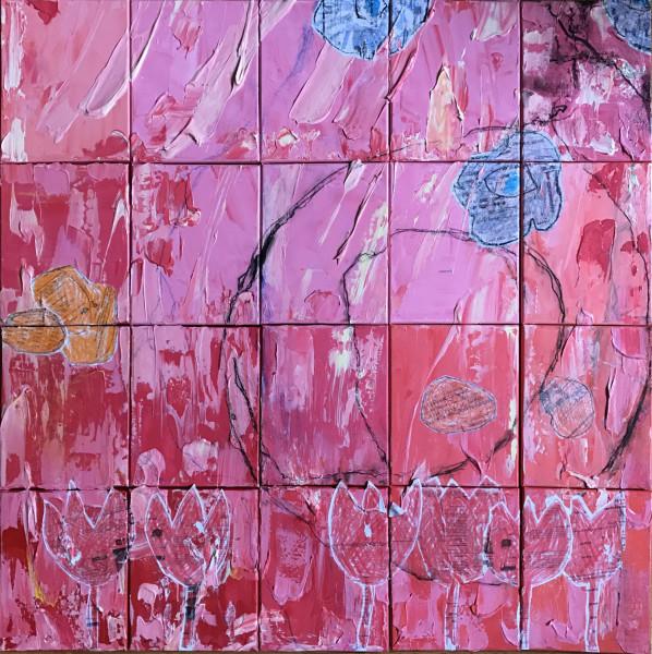 Urban Flora Pink 1FL