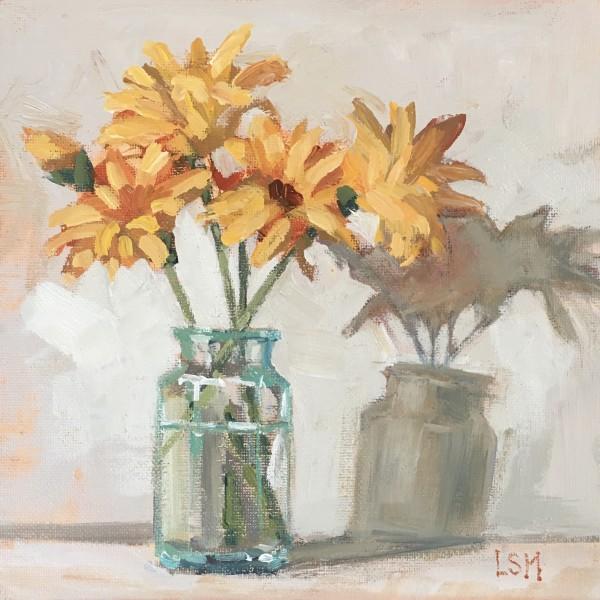Golden Blooms Burst Forth