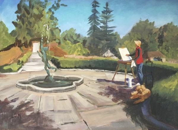 Fountain of Inspiration, Waveny House, New Canaan, CT