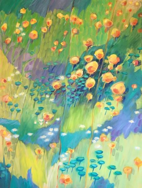 In sweet fragrant meadows