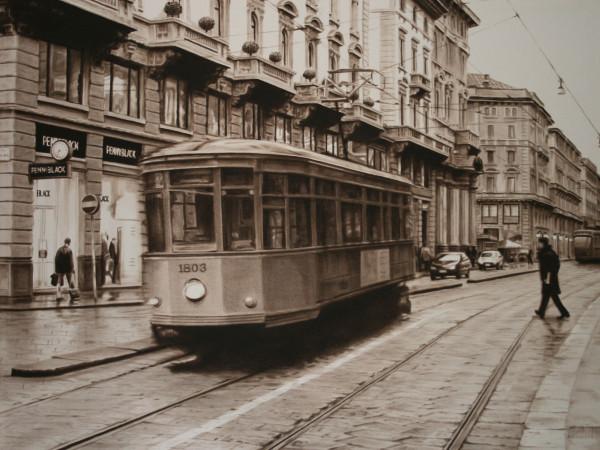 Trolley in Milan