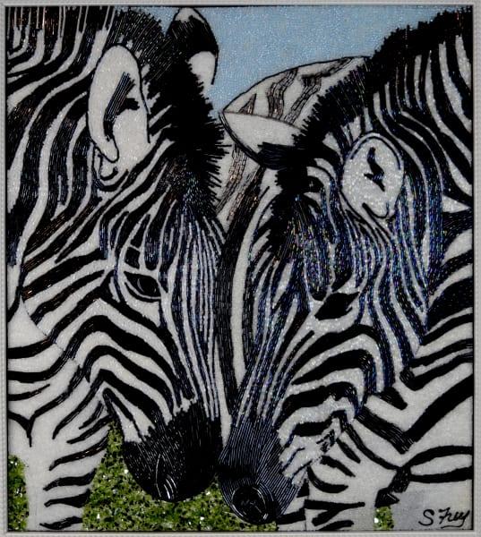 Bogie & Bacall - Zebras