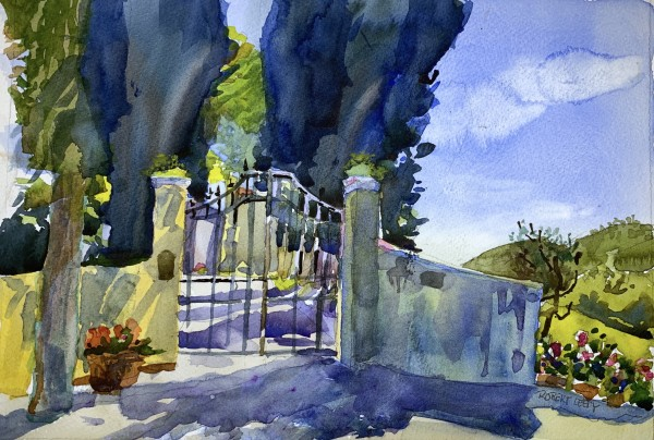 """Gate at San Fedele"""