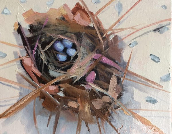 Little Nest 5 (Four Eggs)