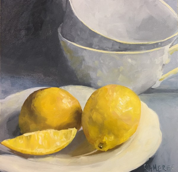 Lemons and White China