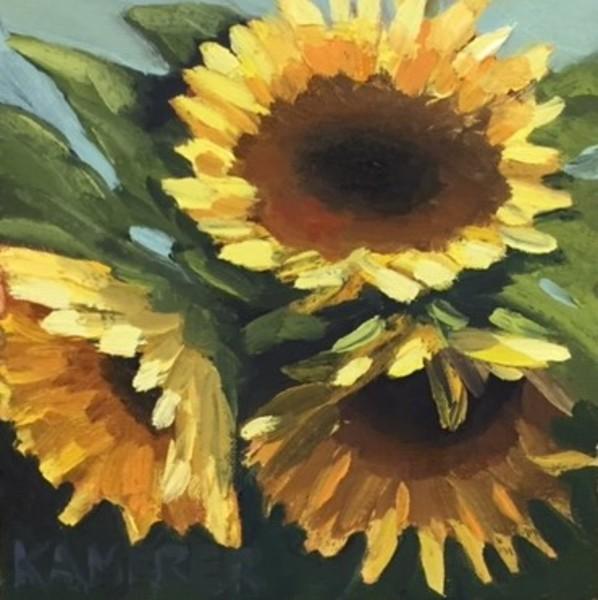 Sunflower Trio