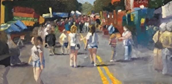 Trade Street Comes Alive!  The Matthews, NC Alive Festival