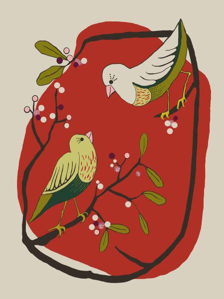 Mistletoe birds