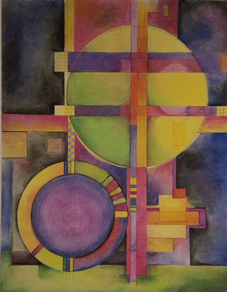Chasing Kandinsky: Composition #5