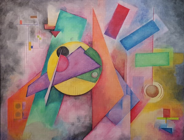 Chasing Kandinsky: Composition #1