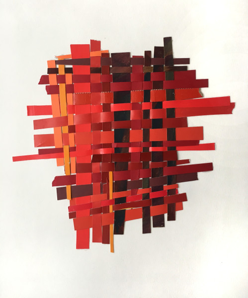 Woven Red Umber