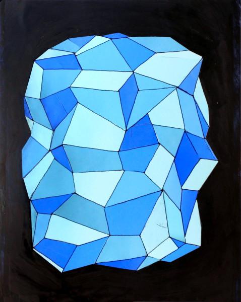 Facet Blue Delicate Spacerock
