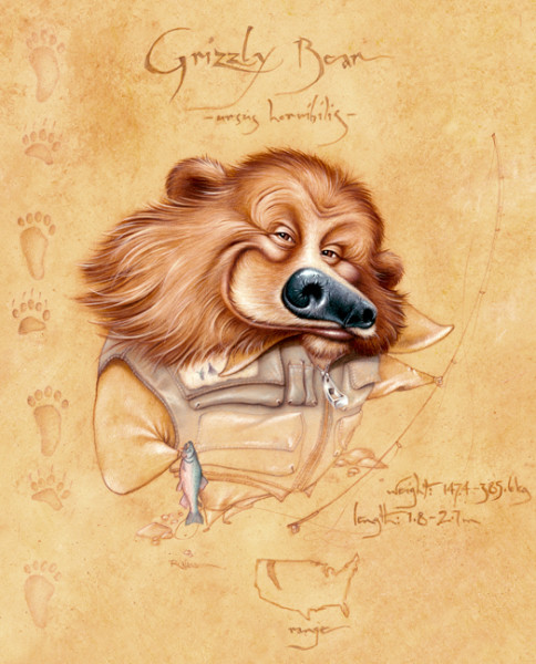 Grizzly (Unframed print)