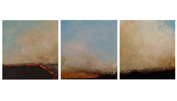 Prairie Restoration (Framed Set of 3 Originals)