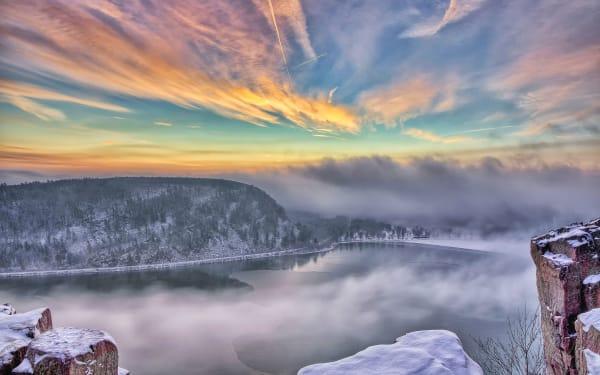 Devil's Lake Winter (unframed print)