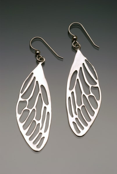 Dragonfly Wing Earrings (2 sizes available)