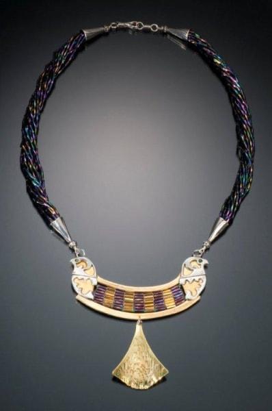Falcon Protection Necklace