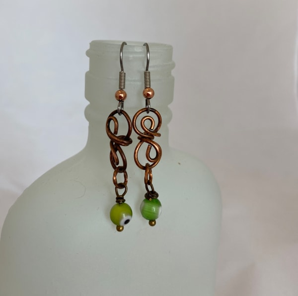 Copper Earrings (click for more design and color options)