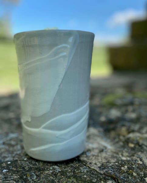 Vase (Gray/white)