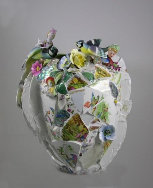 Ladybird (Cracked Pot Series)
