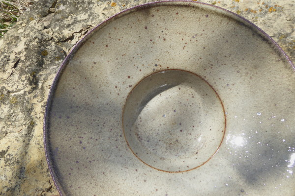 Indented center bowl (small)