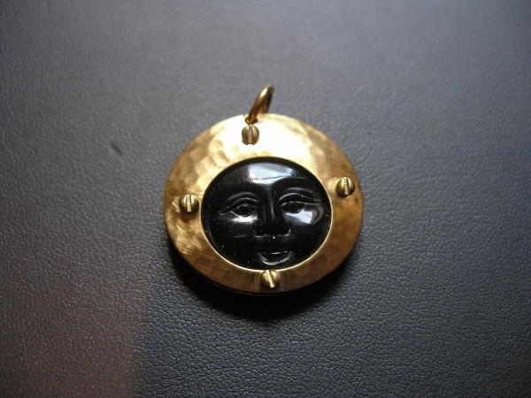 Moon Man Necklace