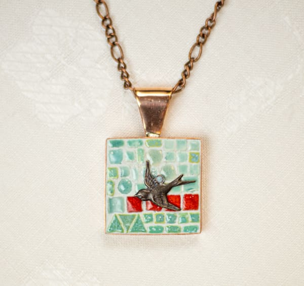 Swooping Bird Necklace