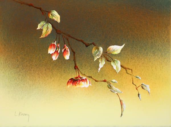 Plum Blossoms III (Framed Original)