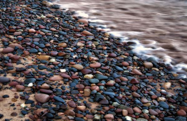 Rocky Shores (Framed photo)