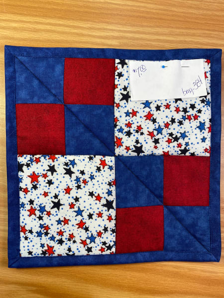 4th of July Pot Holder