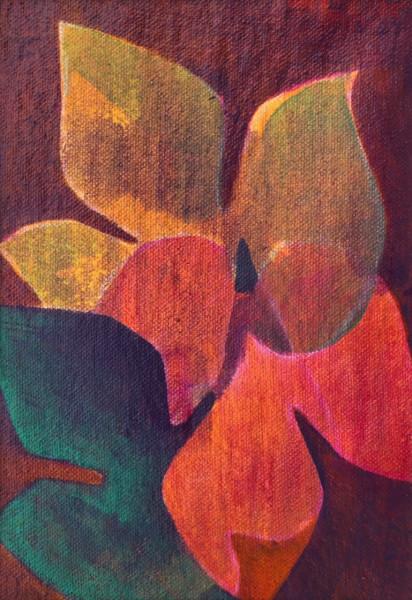 Foliage Study 1 (Unframed, matted original)