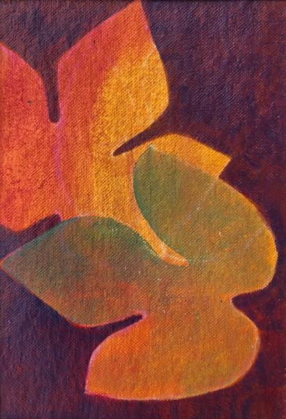 Foliage Study 2 (Unframed, matted original)