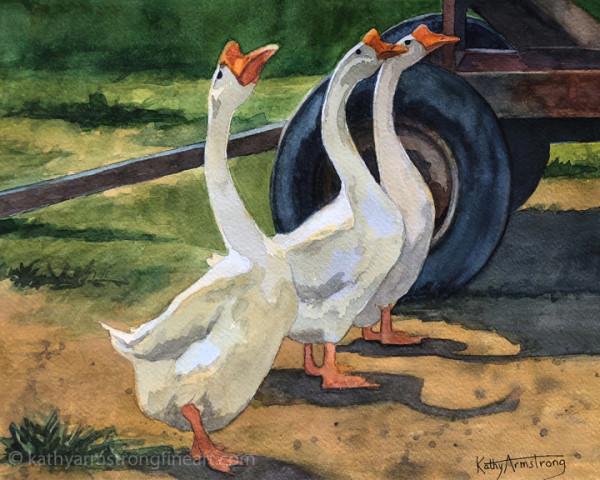Goose Parade